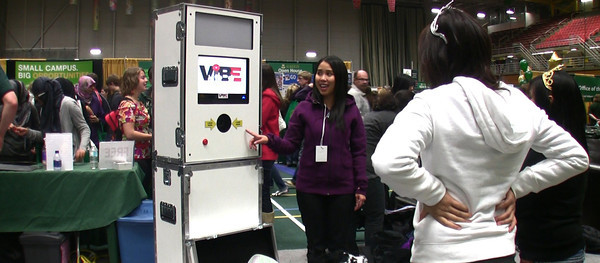 An open booth rental available from Vibe Photobooth Inc.